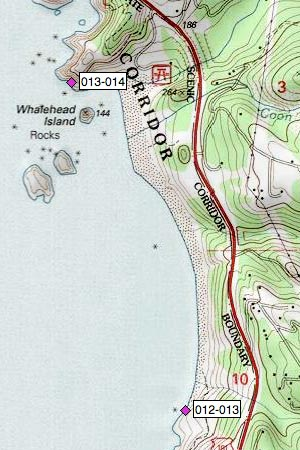 Boardman SP, Whalehead Island, Bowman Creek, Beach