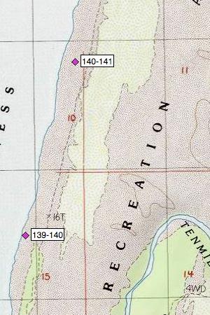Oregon Dunes NRA, W of Eel Campgrounds