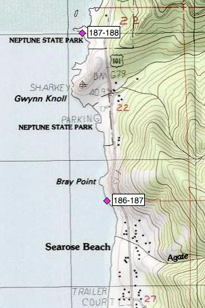 Neptune SP, Bob Creek, Gwynn Knoll