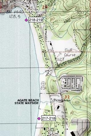 Agate Beach, State Wayside, Little Creek