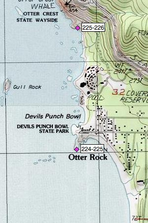 Otter Rock, Devils Punch Bowl SP