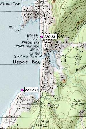 Depoe Bay, State Wayside