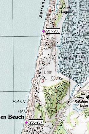 Gleneden Beach north, golf course