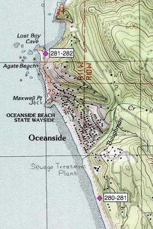 Oceanside Beach, State Wayside, Agate Beach