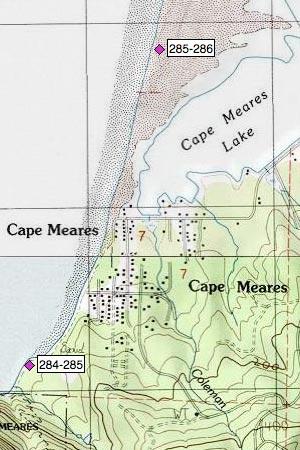 Bayocean Peninsula, Cape Meares community and Lake