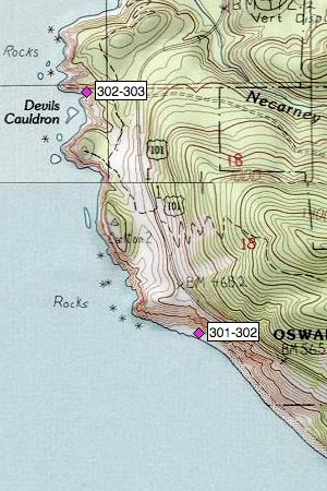 Oswald West SP, Neahkahnie Mountain, Devils Cauldron