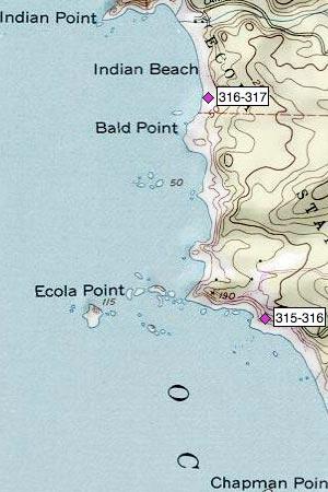 Ecola Point, Bald Point