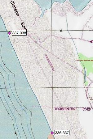 Clatsop Spit, Swash Lake, Fort Stevens SP