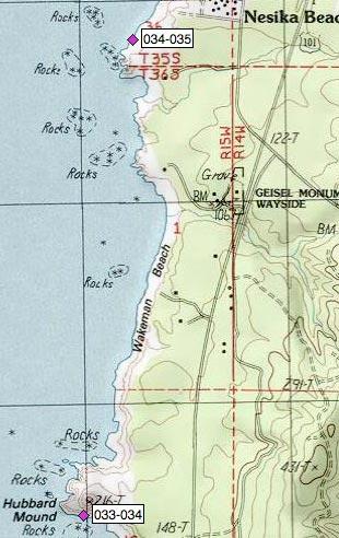 Wakeman Beach, Geisel Monument Wayside