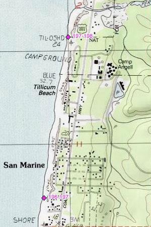 San Marine, Tillicum Beach, Tillicum Beach CG
