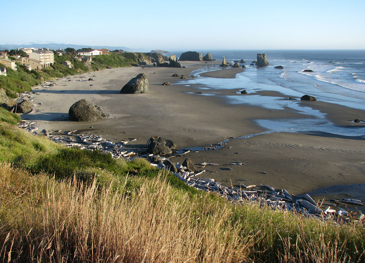 Coquille Point in Bandon.  Photo by Sonja Peterson.