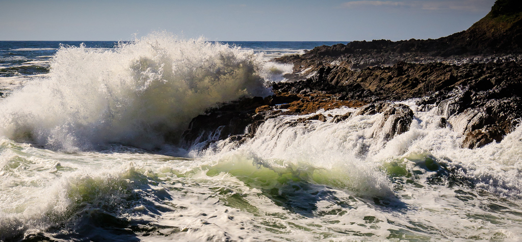 Devil's Churn.  Photo by Curtis Perry.