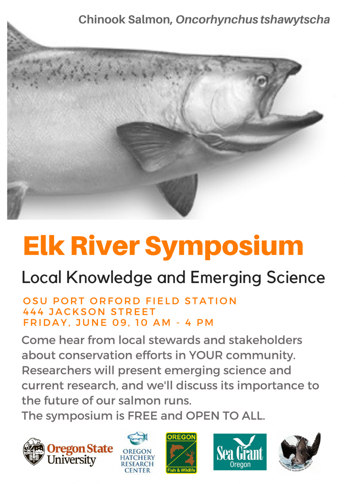 Image of Elk River Symposium event at OSU Port Orford Field Station.