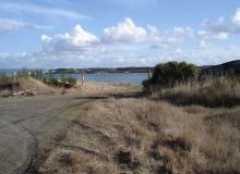 Photo of entrance to the Jordan Cove proposed LNG export facility.