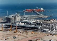 LNG port, of the type all too readily permitted.  Photo from FERC files.