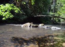 Clay Creek.  Photo courtesy of BLM.