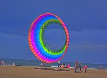 Spinner kite.\Photo by Kirt Edblom.