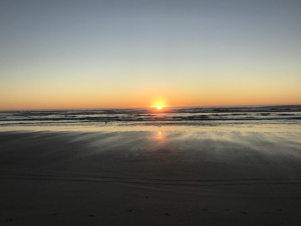 Sunset Netarts/Oceanside