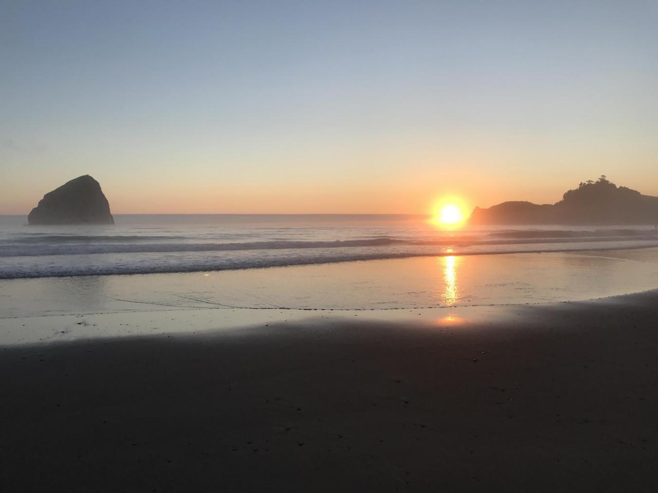 Sunset Cape Kiwanda, July 15, 2021