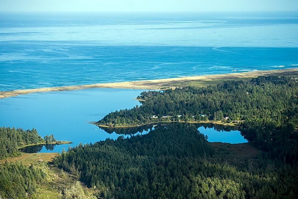 Floras Lake.\Photo courtesy of Floras Lake House.