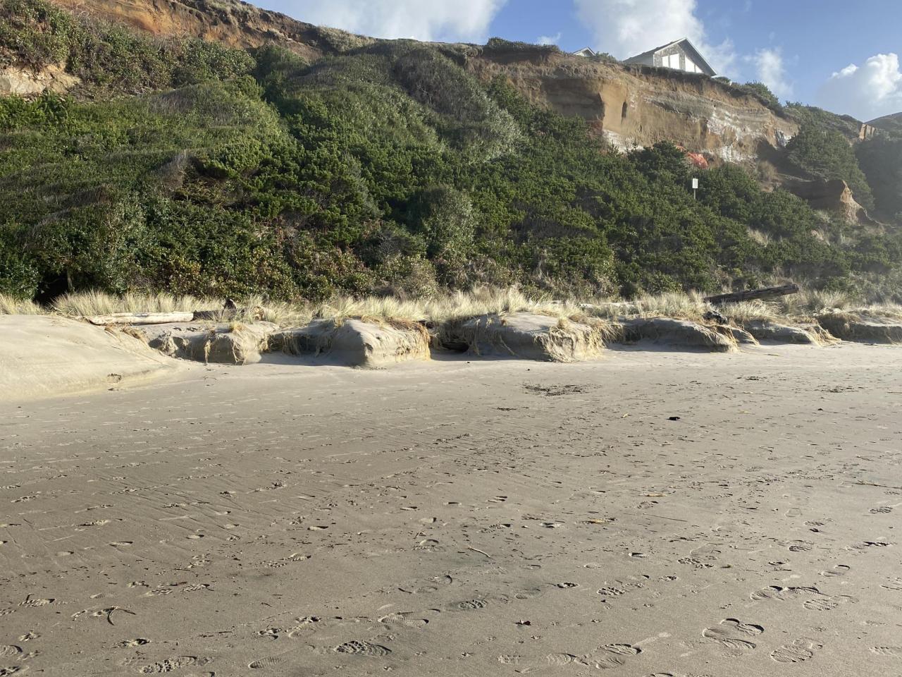 Wecoma Beach erosion 01082021