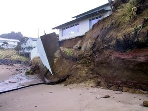Increased erosion is a predicted effect of climate change. Photo courtesy of DOGAMI.