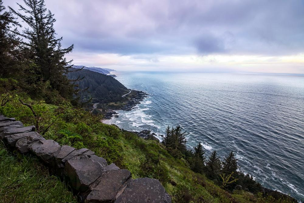 View from Cape Perpetua.\Photo by Rena Olson.