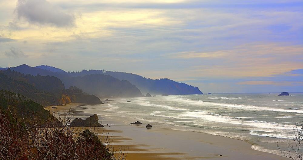 Oregon's ocean frontier. Photo by Kirt Edblom.