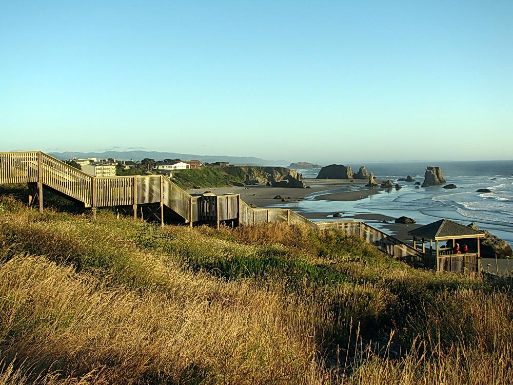 Coquille Point.\Photo by Sonja Peterson.