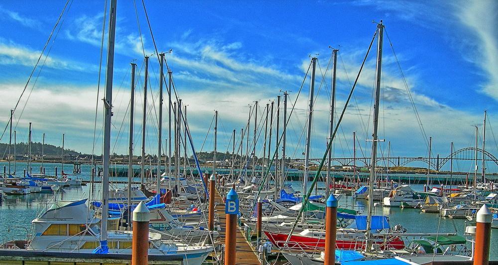 Newport harbor. Photo by Kirt Edblom.