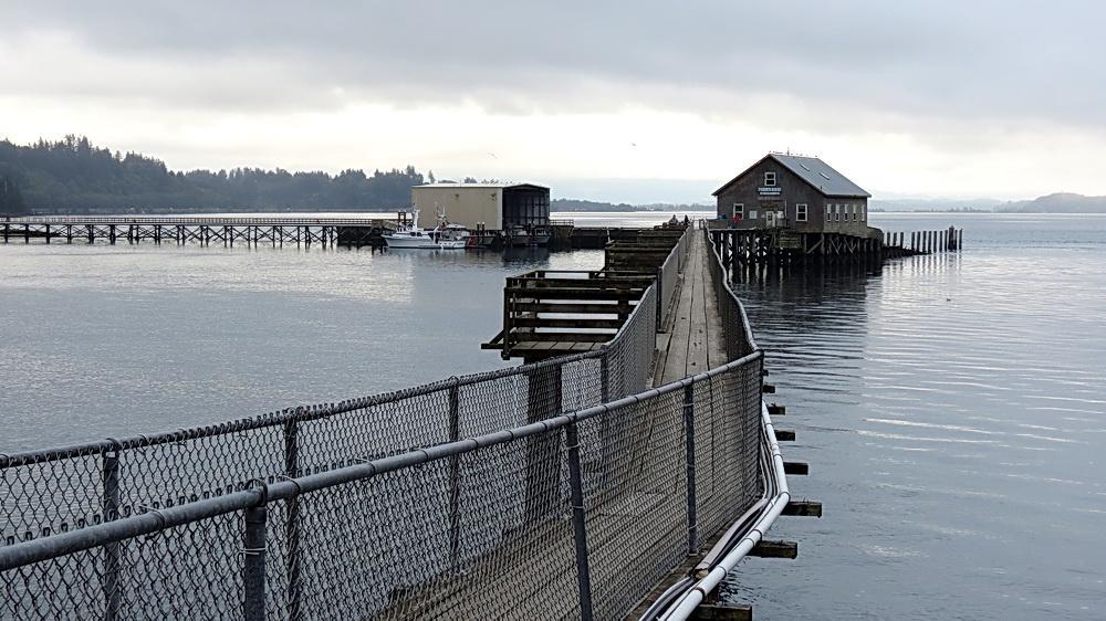 The dock at Garibaldi.\Photo by Sonja Peterson.