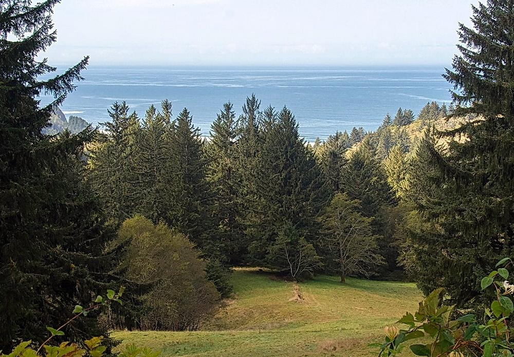 View from Grass Mountain.\Photo courtesy of Sitka Center.