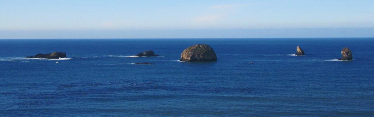 Photo of Redfish Rocks by Kelly Timchak.