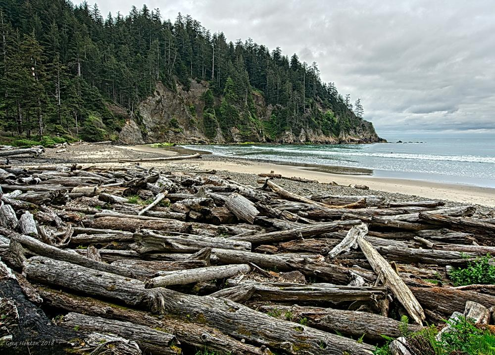 Smuggler's Cove at Oswald West State Park.\Photo by Gregory Henton.