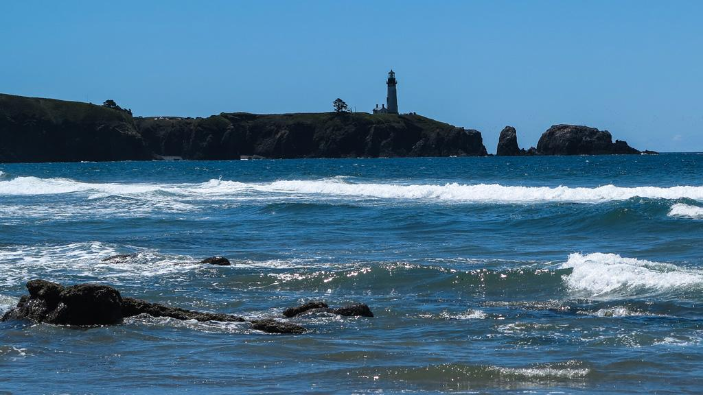 Yaquina Head from the north.  Photo by Alex Derr.