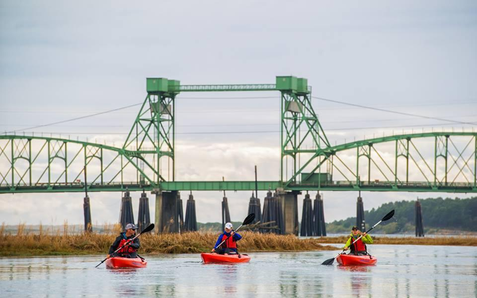 Kayakers On Coquille River. | Photo from Coquille River Water Trail