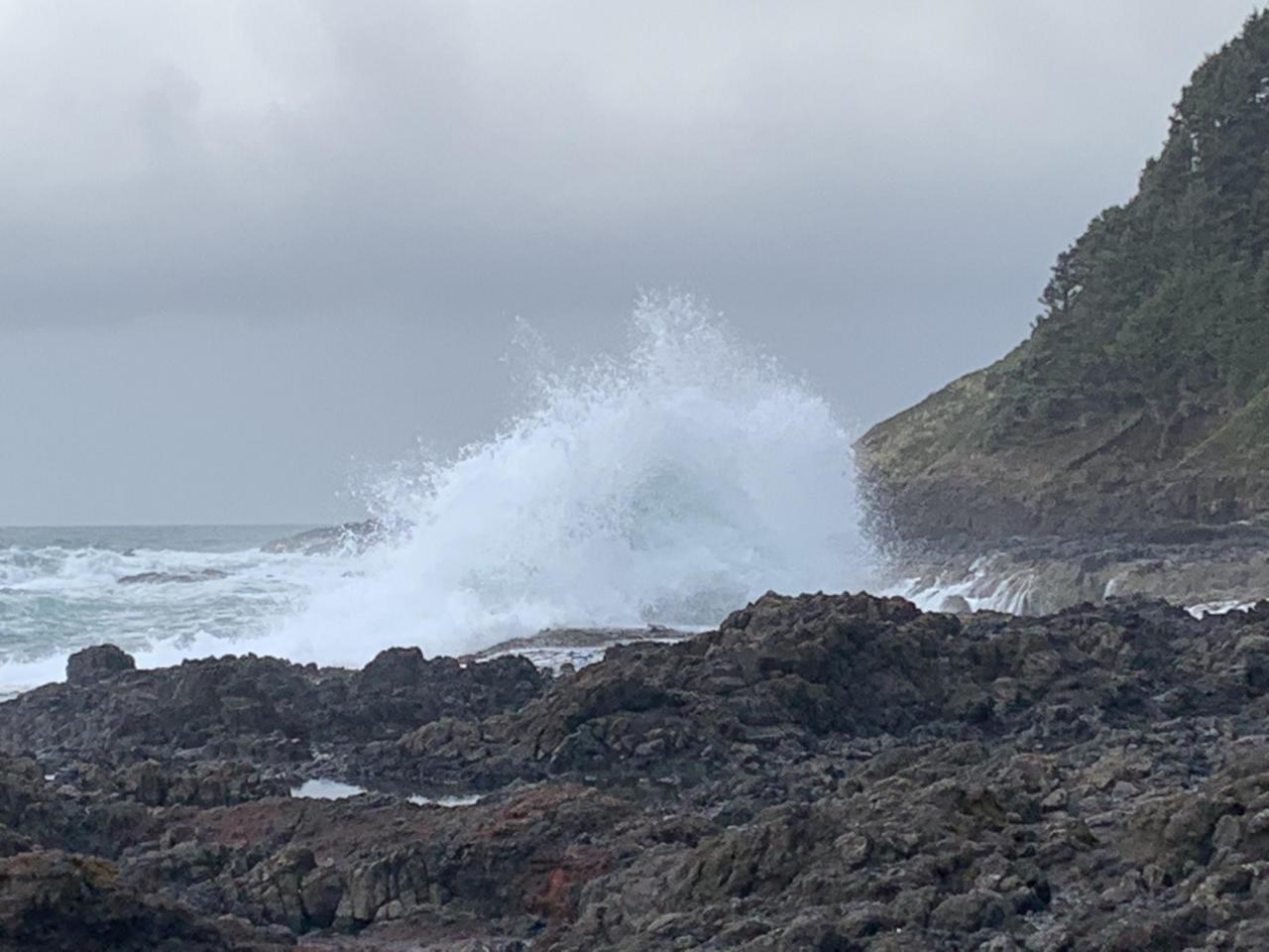 Entrance to Devil's Churn Cape Perpetua