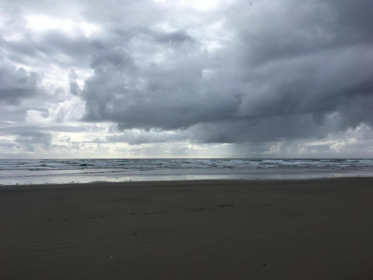 South Beach rain