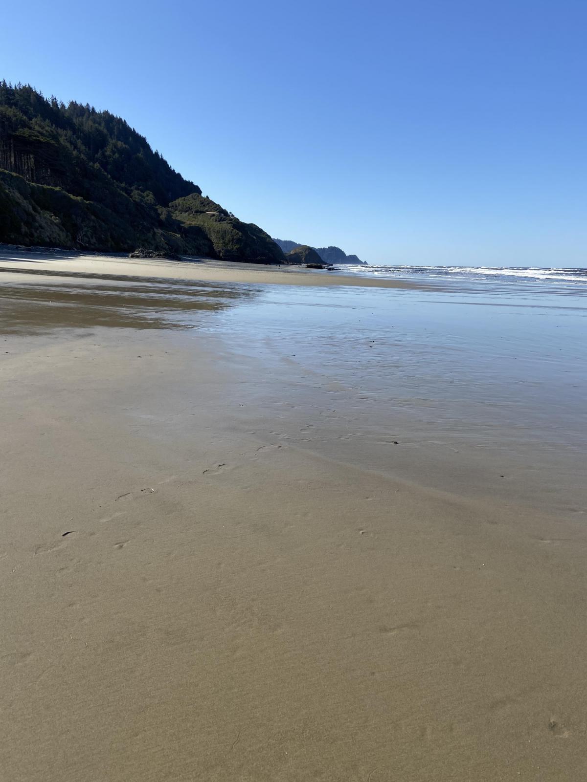 Sandy beach again!