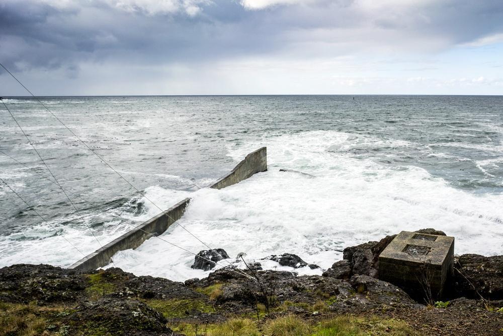 King Tide at Depoe Bay.\Photo by Bob Loewen.