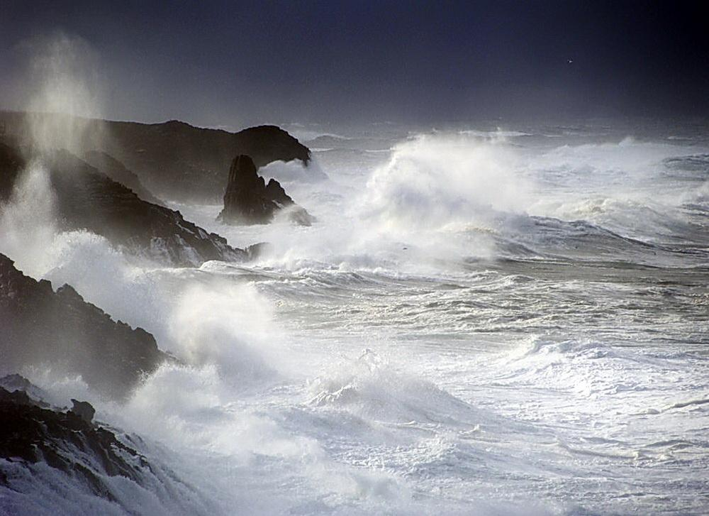 The state of the coast is unsettled.\Photo by Jenny Green.