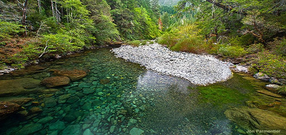 Baldface Creek, North Fork Smith tributary. Photo by Jon Parmentier.