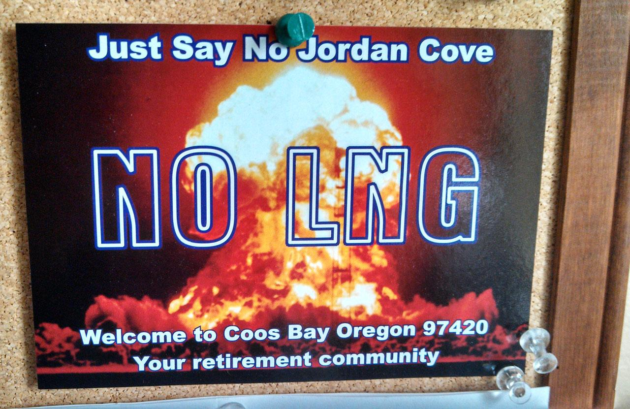 LNG poster.