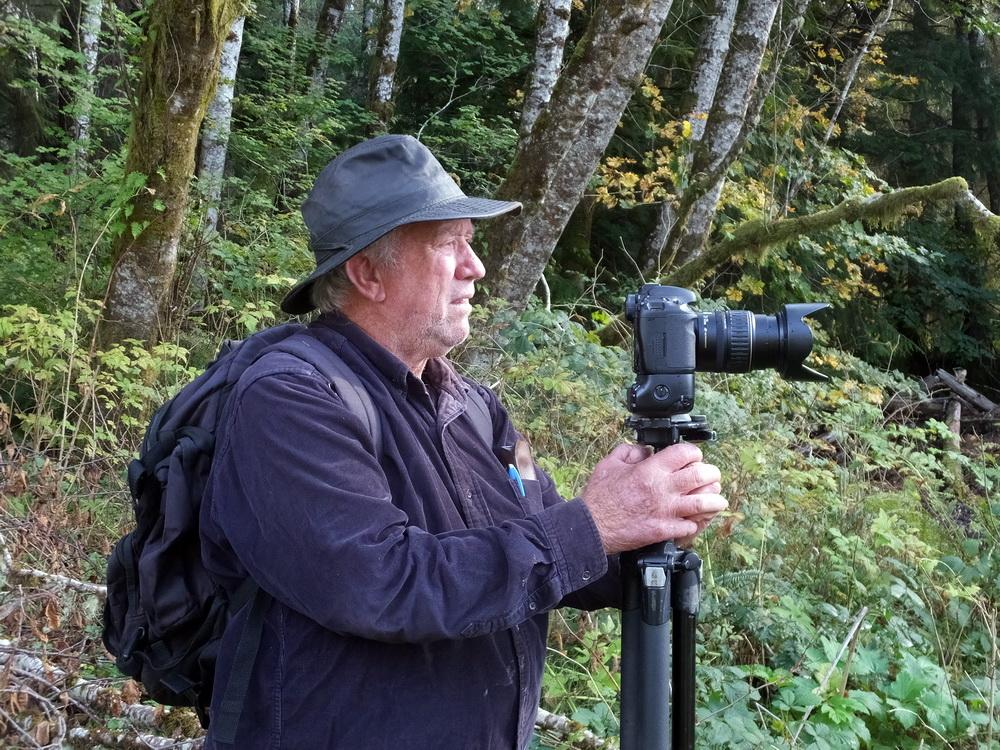 Photo of Neal Maine courtesy of North Coast Land Conservancy.