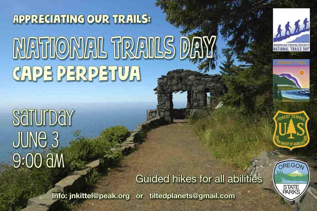 National Trails Day 2017 hike poster.
