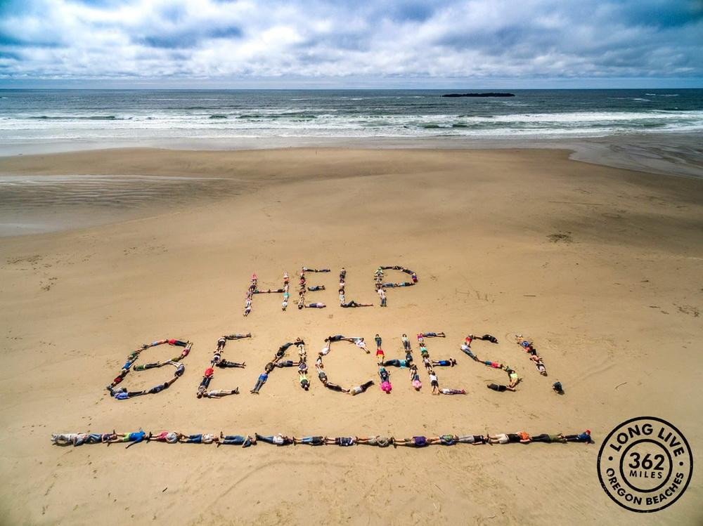 Poster for the failed Oregon Beach Fund campaign.\Photo courtesy of Surfrider.