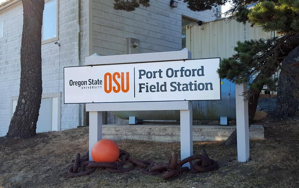 OSU Port Orford field station, site of the comprehensive CoastWatch training.