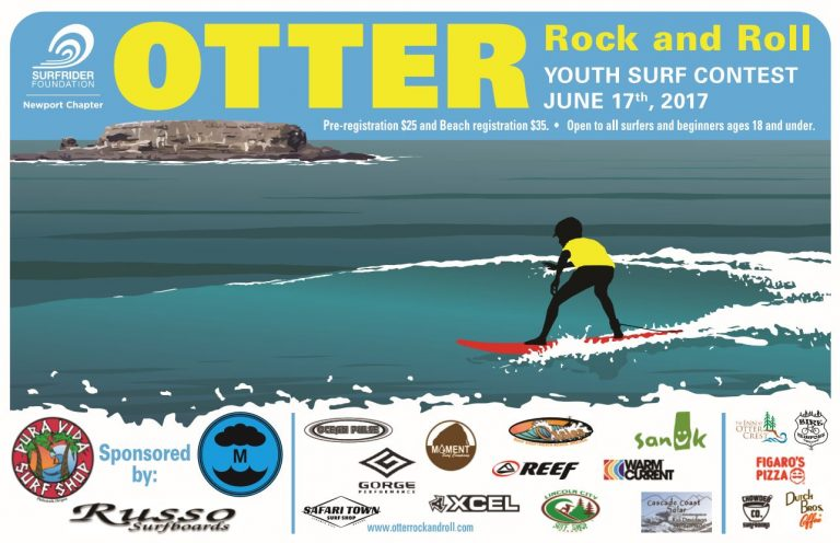 Otter Rock n' Roll 2017 Poster