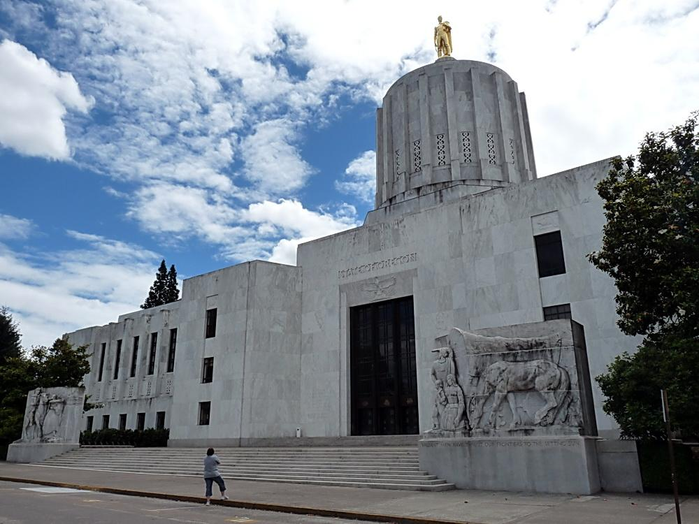 Oregon State Capitol. Photo courtesy of Wikipedia Commons.