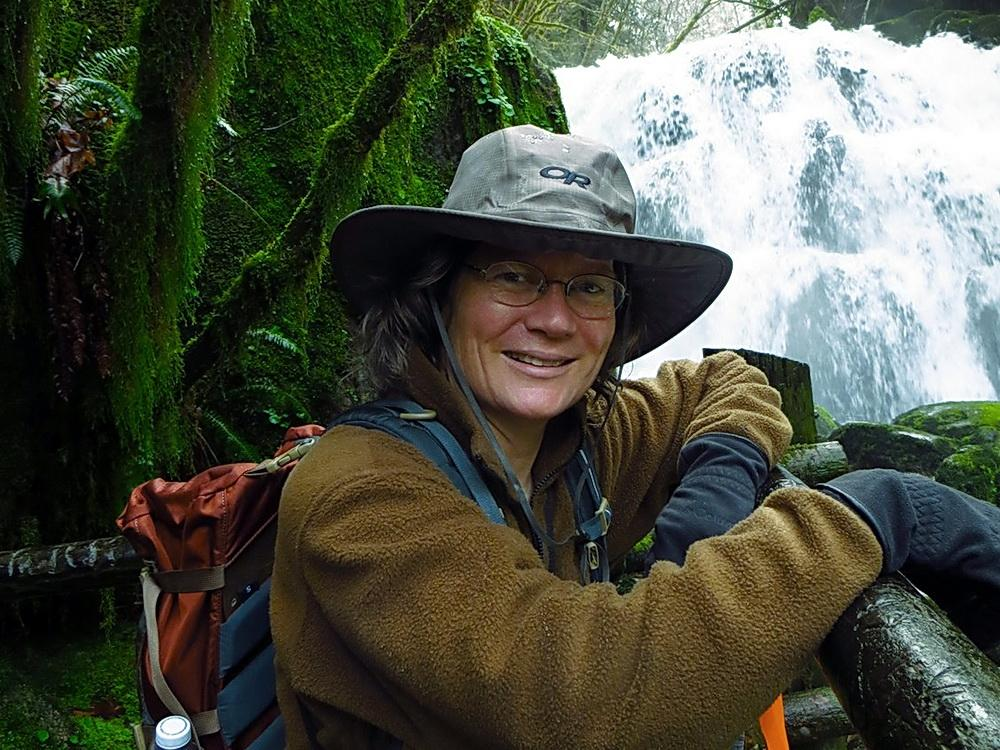 Wetland ecologist Laura Brophy.